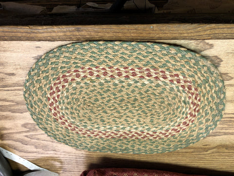 Oval Braided Mat