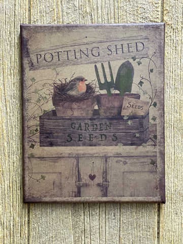 8 x  10 Potting Shed Print
