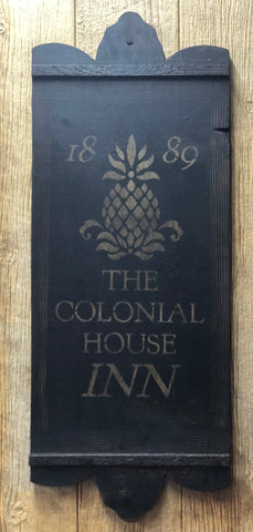 The Colonial House Tavern Board