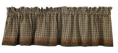 Park Designs Lined Valance - Cider Mill