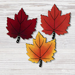 Embellish Your Story Magnets Maple Leaf