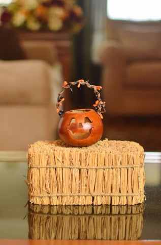 Meadowbrooke Gourds Party Treat-Jack Basket