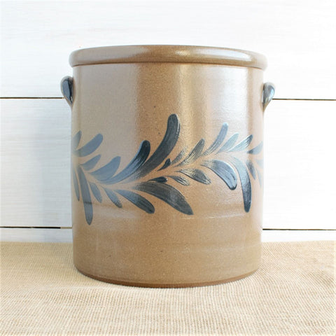 Rowe Pottery Provincial 2 Gallon Crock