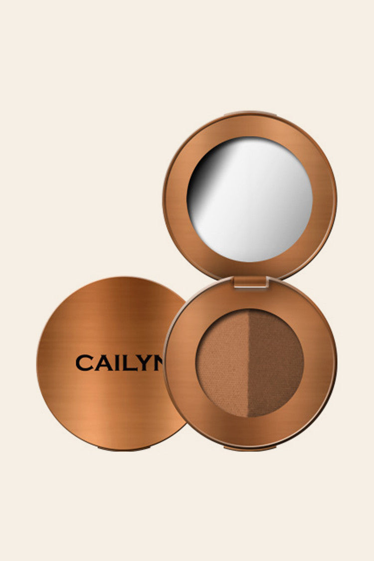 Cailyn - Eyebrow Duo - 01 Brunette - Sombra para cejas