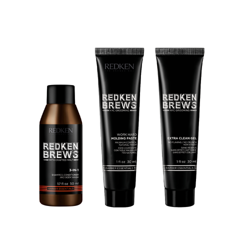 Brews Travel Size Kit | Redken
