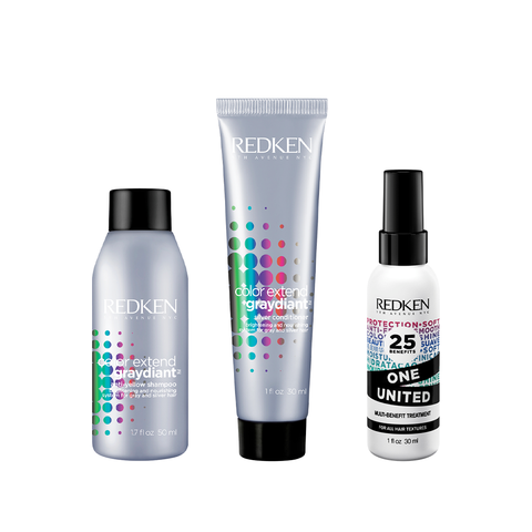 Color Extend Graydiant Travel Size Kit | Redken