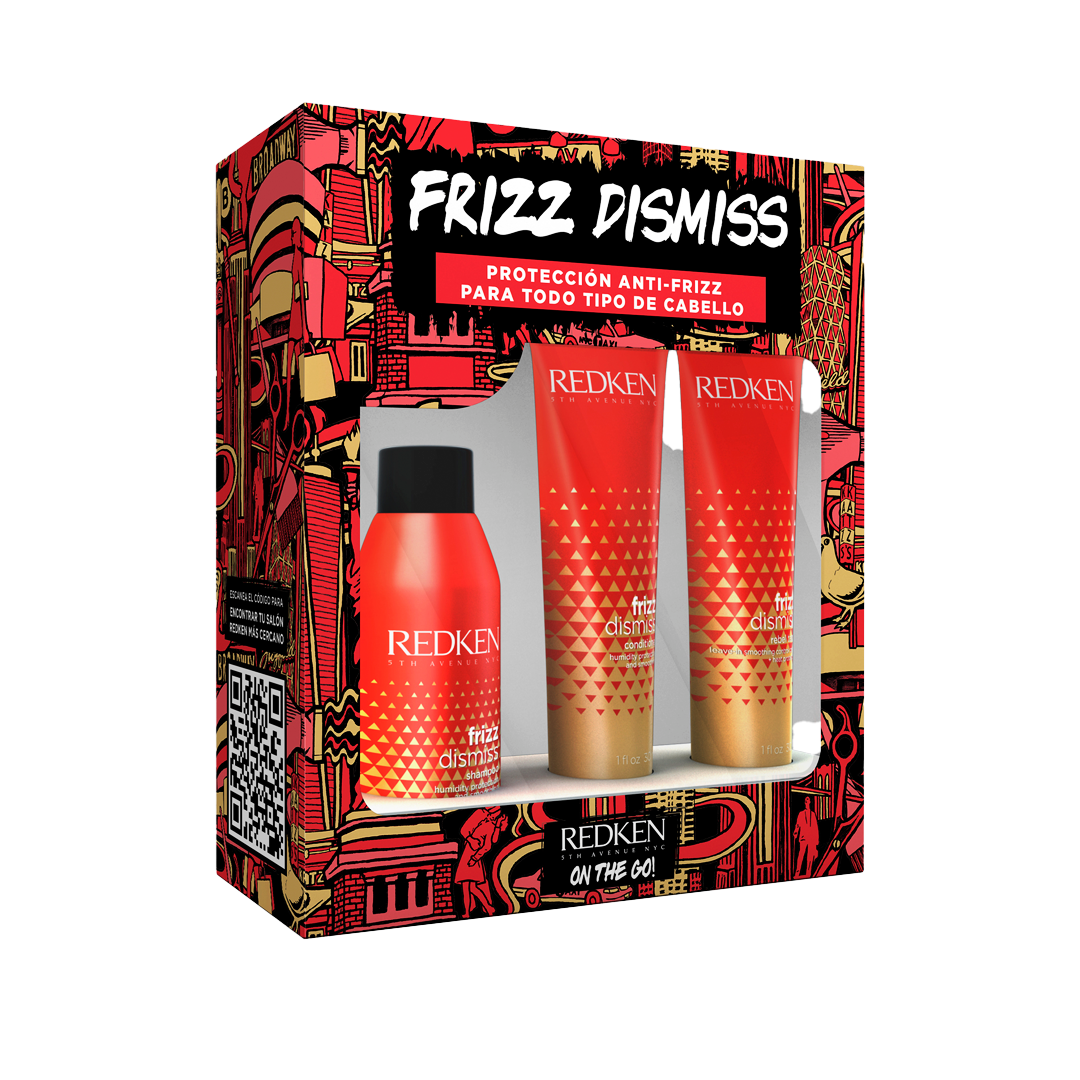 Frizz Dismiss Travel Size Kit | Redken