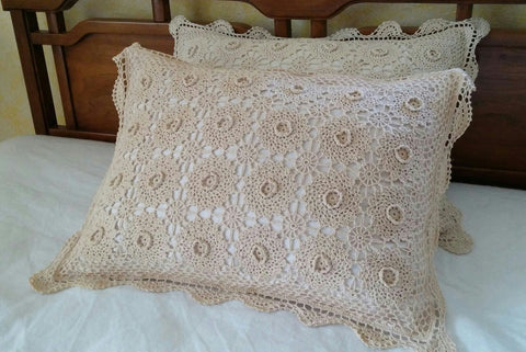 Sold Most Items Are 1 Ofs 1 Set Of 2 Pillow Shams Vintage