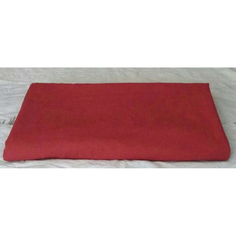 Bed Scarf Window Scarf Table Buffet Runner Brick Red Linen & Cotton
