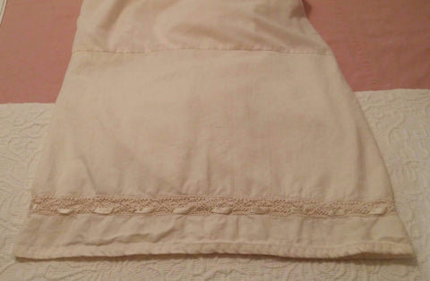 SOLD Most Items Are 1 of's: #Bedskirt Dust Ruffle Vintage #Crochet & #Ribbon King Size
