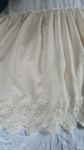 SOLD Most Items Are 1 Of's: #Bedskirt Dust Ruffle