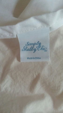 SOLD  Bedskirt Dust Ruffle Simply Shabby Chic Brand Queen Size,