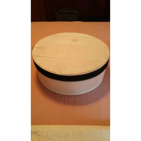 Cheese Box Vintage White Large Dufeck of Wisconsin