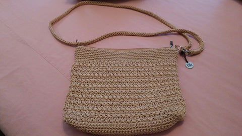 "SOLD MOST ITEMS ARE 1 OFS Handbag ""The Sak"" Crochet Clutch, Crossbody Demi,"