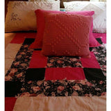 Blanket Quilted Lap Throw Light Weight or Wall Hanging