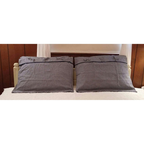 Pillow Shams Match American Pacific Standard Size Set of 2