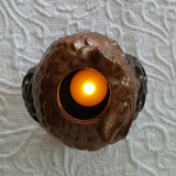 SOLD Most Items Are 1 Of's: Hoot Hoot Owl Candle Holder