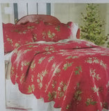 Picture From Plow & Hearth Website Peaceful Pine Cotton Quilted King Shams Two Avail