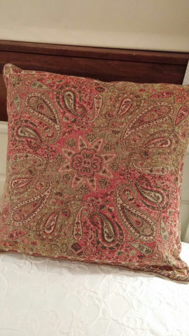 SOLD MOST ITEMS ARE 1 Of's: Throw Pillow #Pottery Barn + PB Insert,