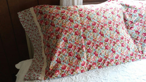 SOLD Most Items Are 1 Of's: 1 Set of 2 #Pillowcases Standard Queen Size,