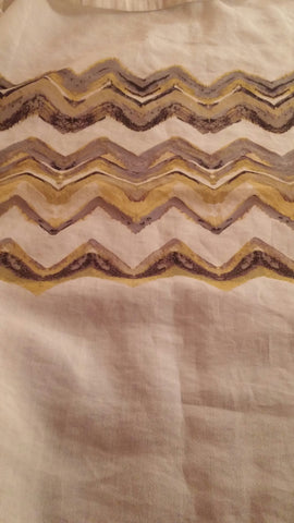SOLD MOST ITEMS ARE 1 OFS Shower Curtain Chevron Threshold Like New,
