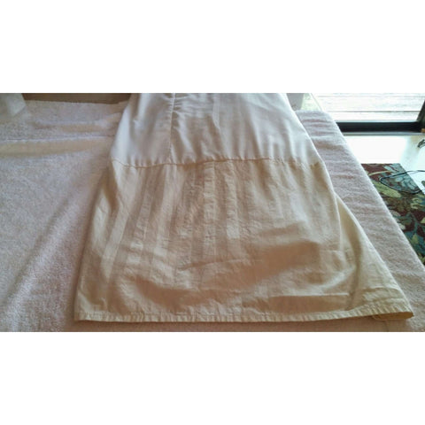 Bedskirt Dust Ruffle Springs Industries King Size Cream Color