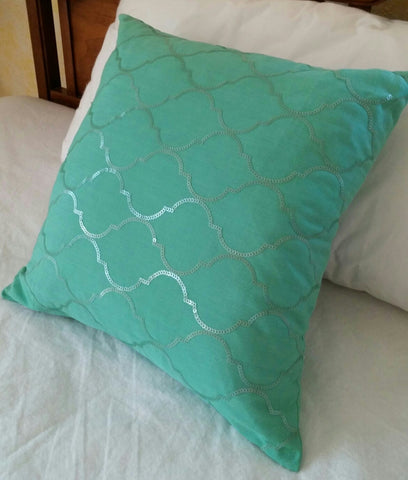 SOLD Most Items are 1 of's #***  Throw Pillow #Thro by Marlo Lorenz Decorative #Sequins,
