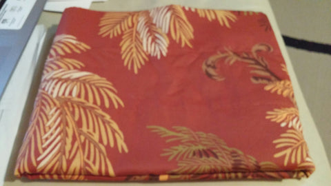 SOLD MOST ITEMS ARE 1 Of's: Valance Lined Rod Pocket Curtain Tommy Bahama Orange Cay,