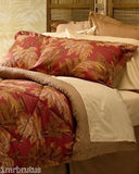 SOLD MOST ITEMS ARE 1 OFS 2 Pillow Shams King Tommy Bahama Home Orange Cay Rare,
