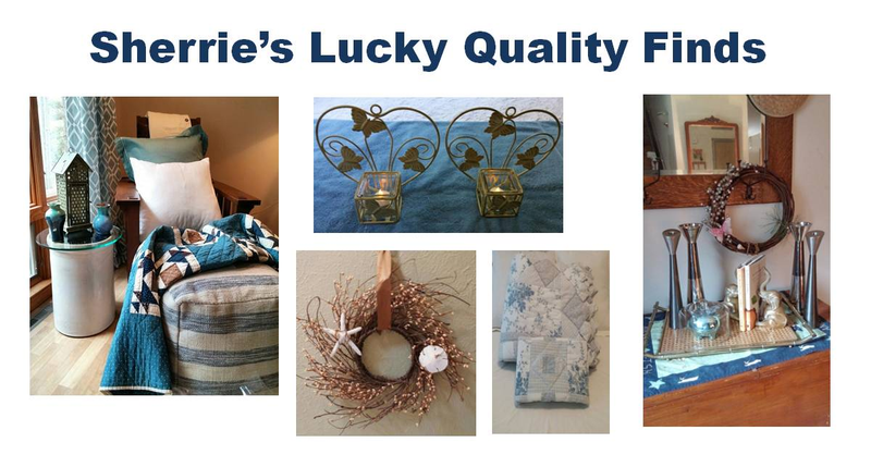 Sherrie's Lucky Quality Finds Home Decor