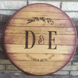 Reclaimed Wine Barrel (C11)