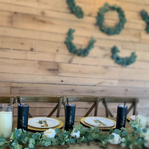 stone creek bend bridesmaids gifts headtable inspiration wedding receiption