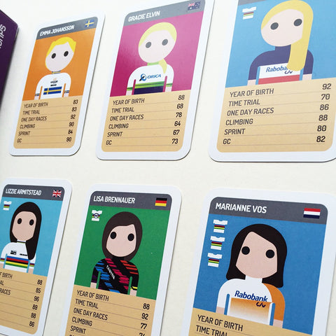SALE - Pro Cycling Trumps - 2016 Women's Edition - SALE
