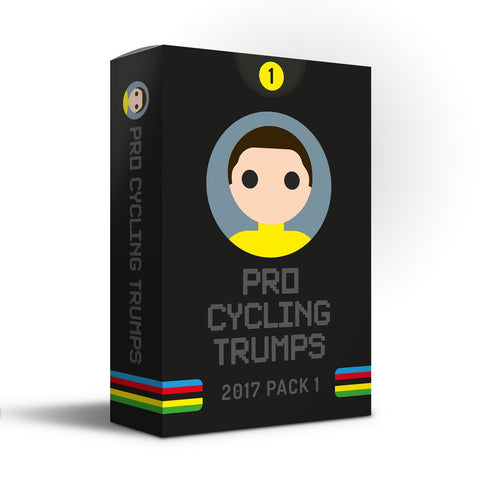 Pro Cycling Trumps - 2017 Edition Pack One - OUT OF STOCK