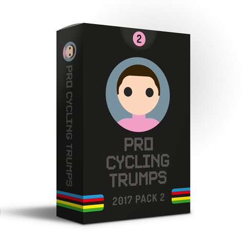 Pro Cycling Trumps - 2017 Edition Pack Two - BACK IN STOCK