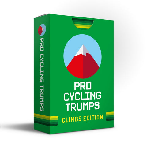 Pro Cycling Trumps - Climbs Edition - BACK IN STOCK