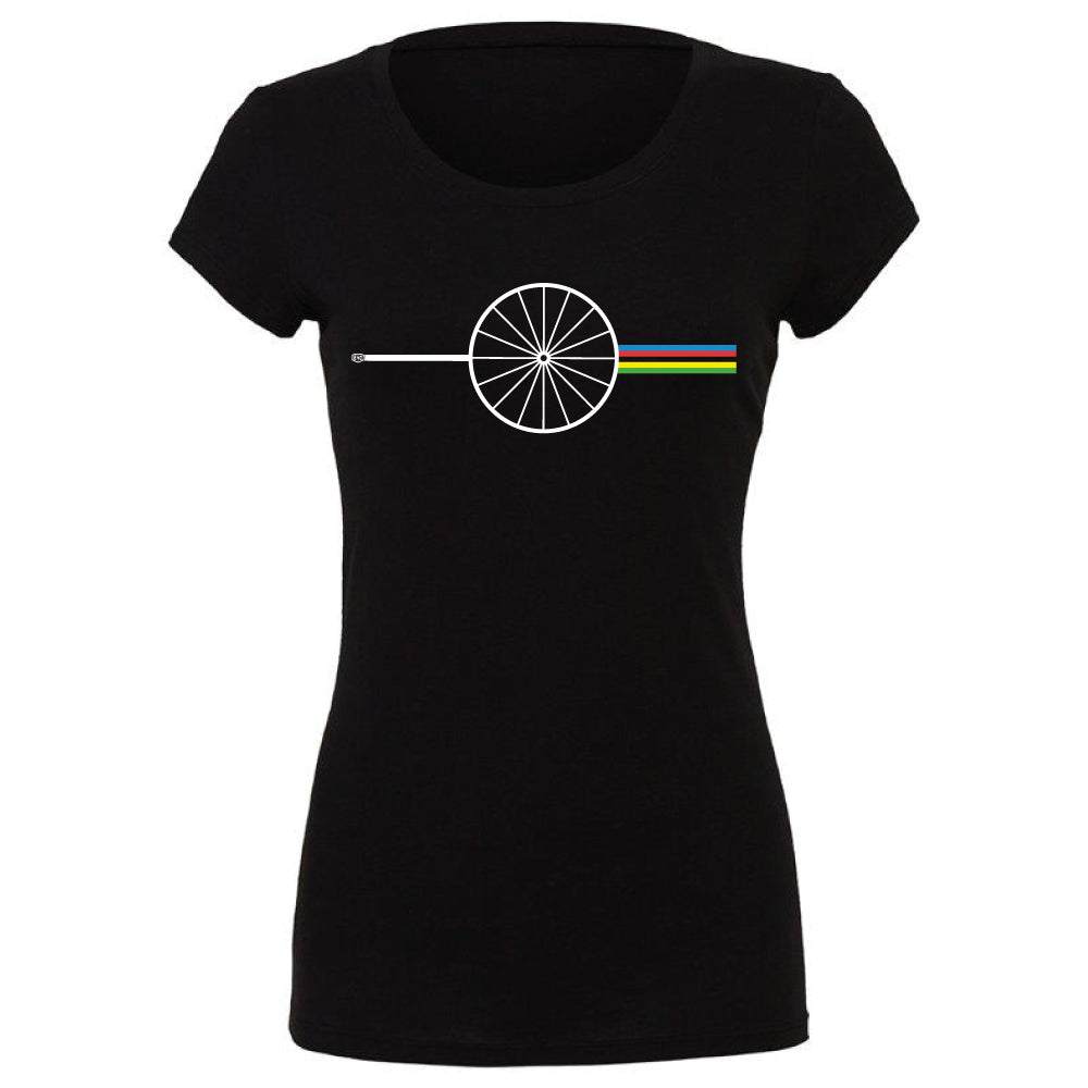 "WOMENS ""DARKSIDE OF THE WORLDS"" T-Shirt - Black"
