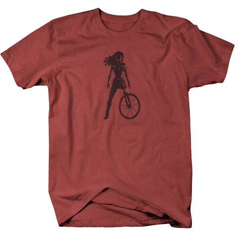 "Mens ""Death Proof""  T Shirt  - Red Clay Blend"