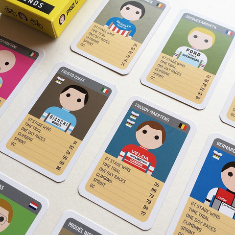 Pro Cycling Trumps - Legends Edition - NEW STOCK NOW IN