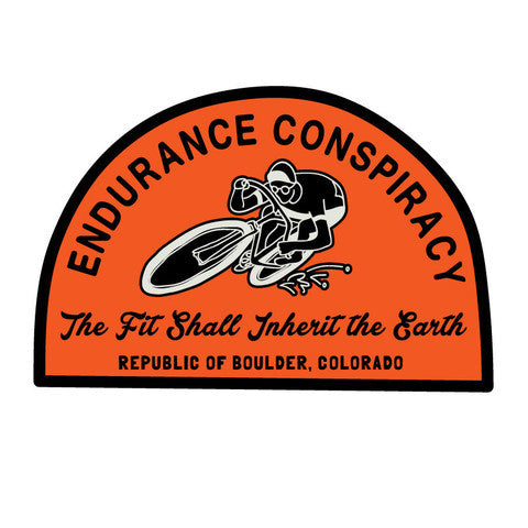 Endurance Conspiracy Sticker Pack - 2016 Collection