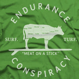 Surf & Turf T Shirt - Grass Stain
