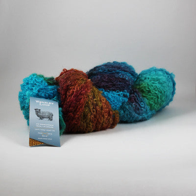 Fleece Artist hand dyed yarn Wensley Loop
