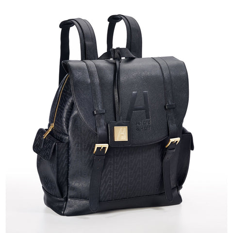Saffiano Leather Sport Backpack