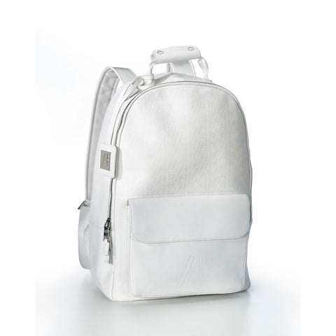 Saffiano Leather City Backpack