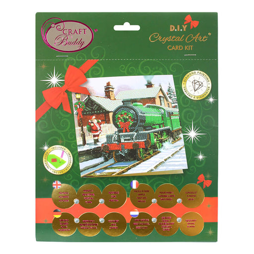 Crystal Card Kit - Santa Express