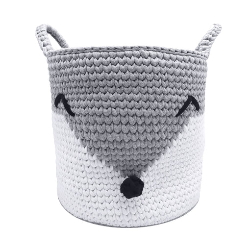 Fox Toy Basket Kit Grey/White