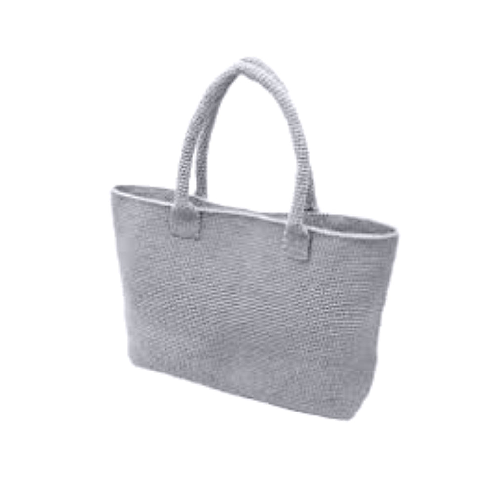 Casual Bag Crochet Kit in Grey