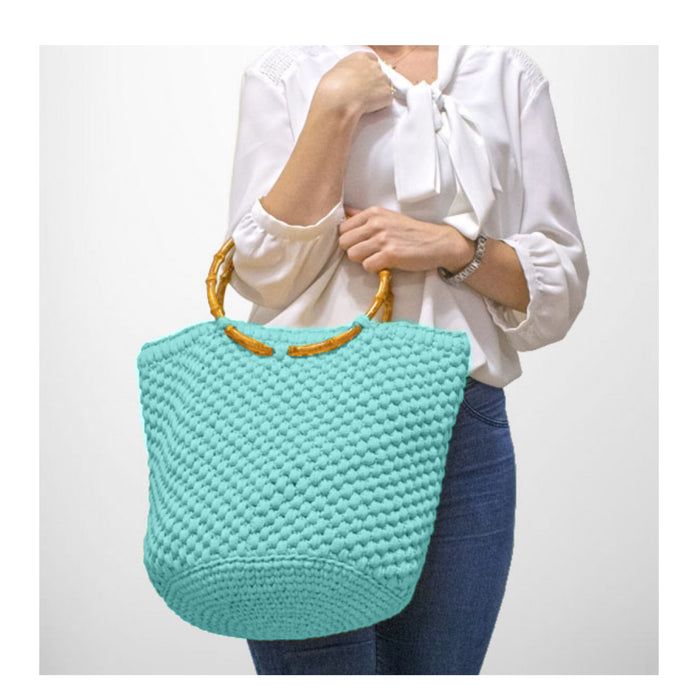 Beach Bag Kit in Pale Blue