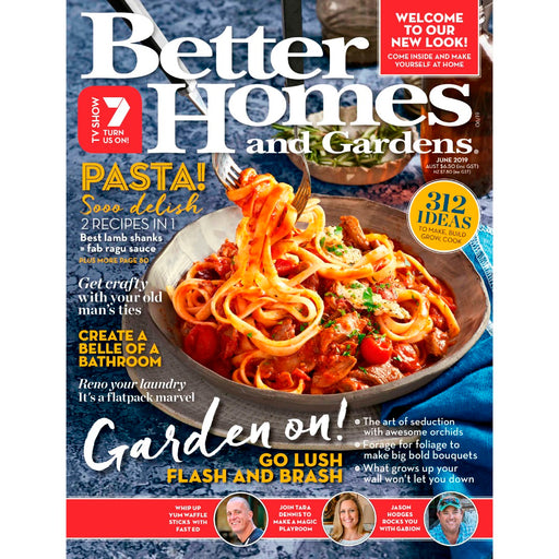 Better Homes and Gardens - June 2019