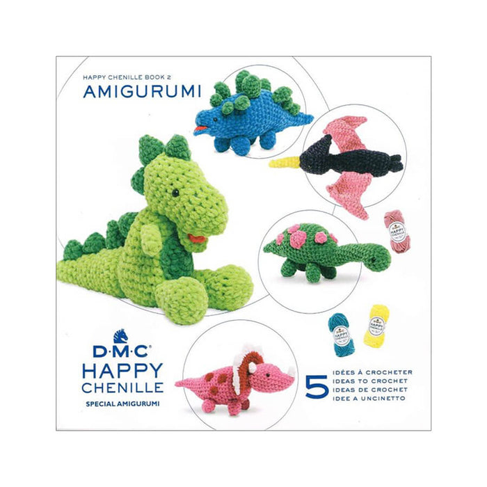 DMC Happy Chenille Book- Dinosaurs